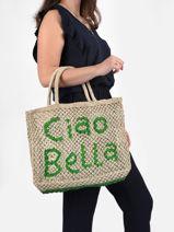 "Shoppingtas ""ciao Bella"" Van Jute The jacksons word bag CIAOBE-vue-porte"