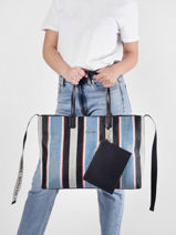 Schoudertas Iconic Tommy Tommy hilfiger iconic tommy AW09954-vue-porte