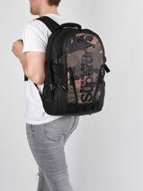 Sac A Dos Superdry Zwart backpack men M9110026-vue-porte