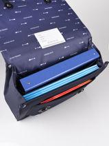Boekentas It Bag Midi Boy 2 Compartimenten Jeune premier Blauw daydream boys B-vue-porte