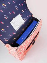 Boekentas It Bag Mini Girl 2 Compartimenten Jeune premier Roze daydream girls G-vue-porte
