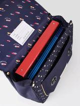 Boekentas It Bag Midi Girl 2 Compartimenten Jeune premier Goud daydream girls G-vue-porte