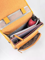 Rugzak 2 Compartimenten Cameleon Geel vintage color VIC-SD38-vue-porte