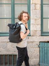 Business Rugzak Ginza Ecoalf Zwart backpack GINZA