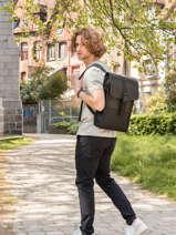 Rugzak 1 Compartiment + Pc 13'' Rains Zwart backpack 1370