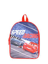 Rugzak 1 Compartiment Cars Rood speed 3CENTR