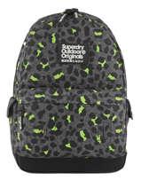 Rugzak 1 Compartiment Superdry Zwart backpack G91001JR