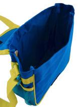 Cross Body Tas Minions Blauw happy 16405-vue-porte