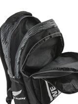 Rugzak 2 Compartimenten All blacks Zwart we are 173A204I-vue-porte