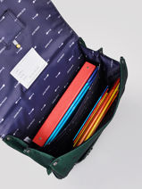 Boekentas It Bag Maxi Boy 2 Compartimenten Jeune premier Zilver daydream boys B-vue-porte