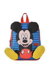 Mini Rugzak Mickey Mickey Blauw stripe MICNI03