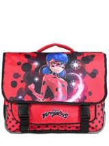 Boekentas Ladybug Miraculous Rood flocon 22240LTF