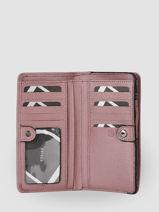 Portefeuille Blazer Leder Etrier Violet blazer EBLA091M-vue-porte