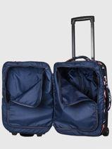 Handbagage Roxy Blauw luggage RJBL3240-vue-porte