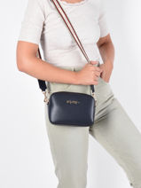 Cross Body Tas Iconic Tommy Tommy hilfiger Zwart iconic tommy AW10292-vue-porte