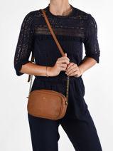 Cross Body Tas Vintage Leder Nat et nin Bruin vintage GERI-vue-porte