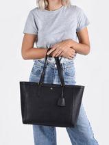Shoppingtas Clare Lauren ralph lauren Zwart clare 31842430-vue-porte