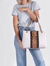 Shoppingtas Bling Guess Wit bling SB798423-vue-porte