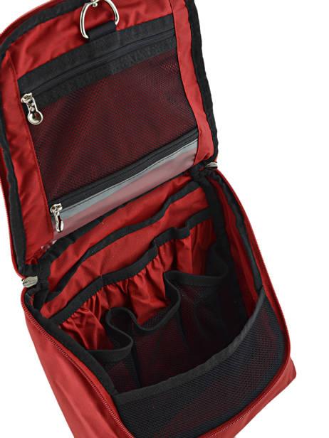 Toiletzak Samsonite Rood accessoires U23501 ander zicht 2