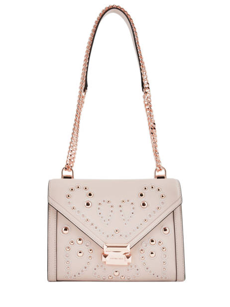 Cross Body Tas Whitney Leder Michael kors Roze m group T8TXIL3U