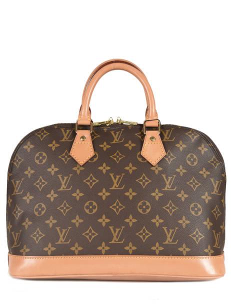 Preloved Louis Vuitton Handtas Alma Monogram Brand connection Bruin louis vuitton 12