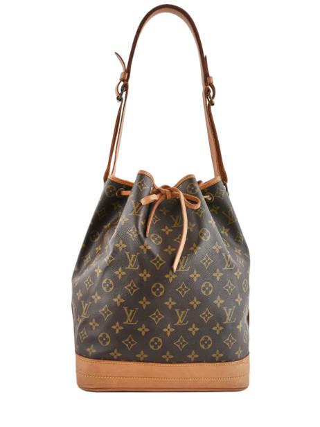 Preloved Louis Vuitton Bucket Bag Noe Gm Monogram Brand connection Bruin louis vuitton 152C