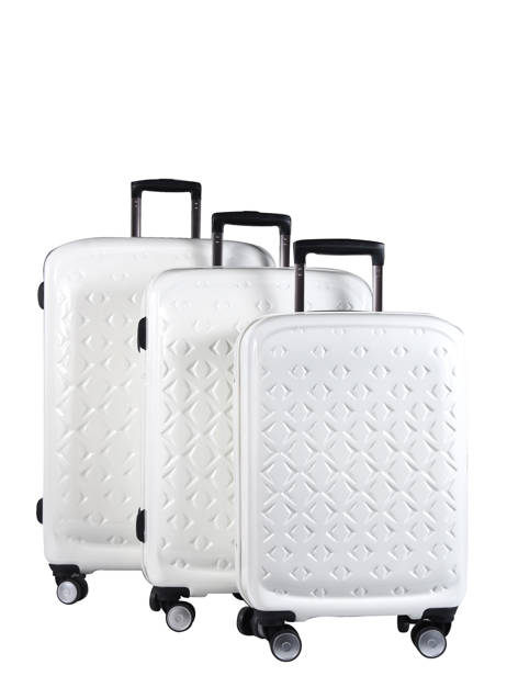 Set Reiskoffers Quadra Travel Wit quadra 18802LOT