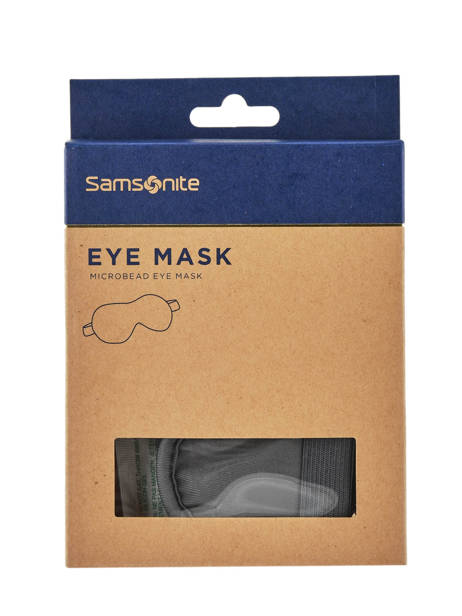 Slaapmasker Samsonite Zwart accessoires C01030
