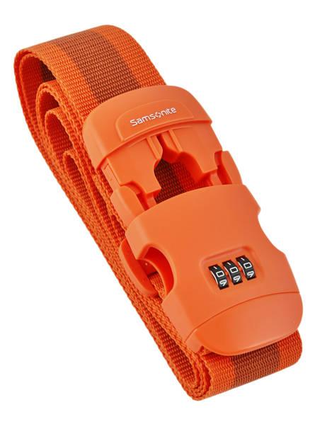 Bagageriem Samsonite Oranje accessoires C01058 ander zicht 1