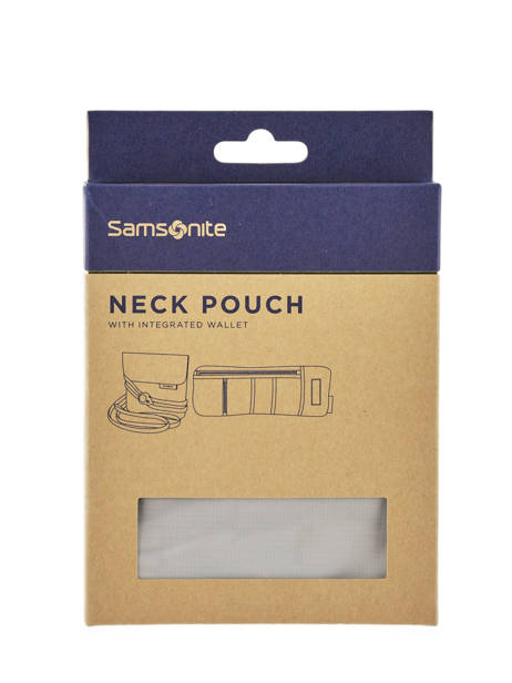 Reiszakje Samsonite Grijs accessoires C01076 ander zicht 2
