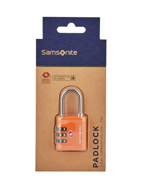 Hangslot Samsonite Oranje accessoires C01099