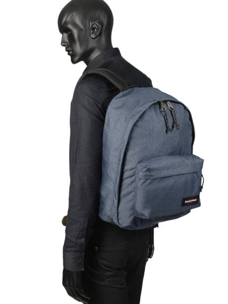 Rugzak Out Of Office + Pc 15'' Eastpak Blauw authentic K767 ander zicht 2