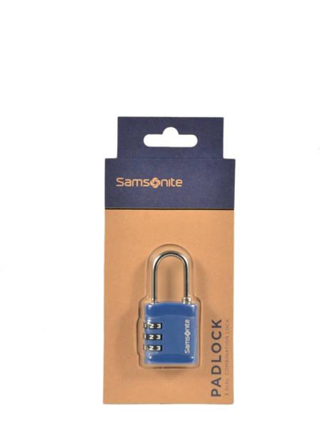 Hangslot Met Cijfercombinatie Samsonite Blauw accessoires C01047