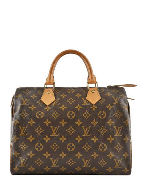 Preloved Louis Vuitton Handtas Speedy 30 Monogram Brand connection Bruin louis vuitton 274