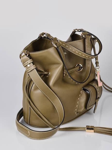 Bucket Bag M Premier Flirt Lancel Groen premier flirt A10110 ander zicht 2
