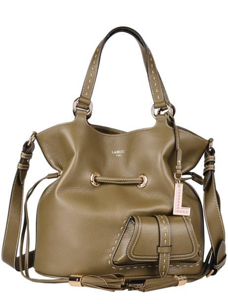 Bucket Bag M Premier Flirt Lancel Groen premier flirt A10110
