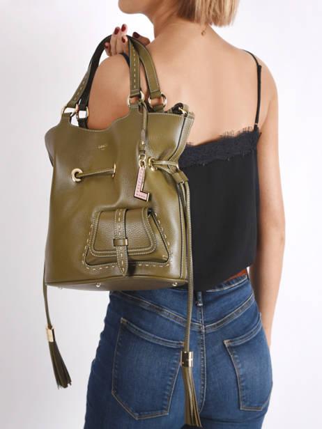 Bucket Bag M Premier Flirt Lancel Groen premier flirt A10110 ander zicht 1