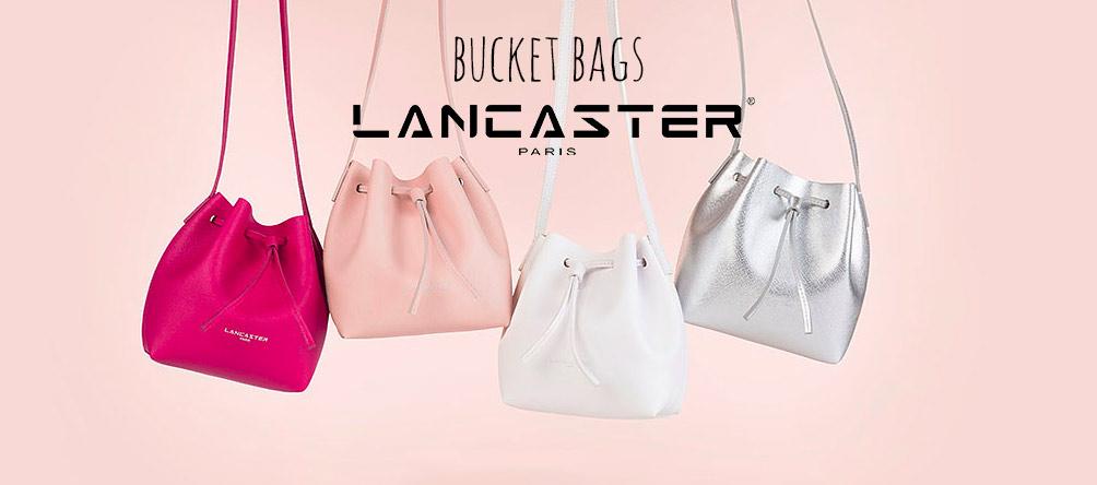 lancaster bucket bag handtassen collectie