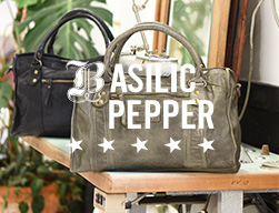 handtas basilic pepper
