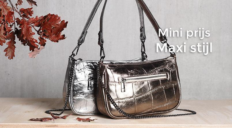 mini prijs handtassen